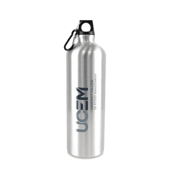 UCEM branded Aluminium Sports Bottle